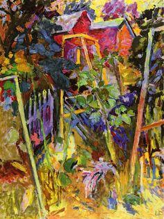 Louis Finkelstein, Nan's Garden