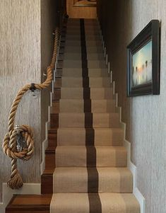 Best 22 Best Rope Stair Rail Images House Design Nautical 400 x 300