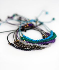 BEADED+gemstone+bracelet+by+keijewelry+on+Etsy,+$16.00