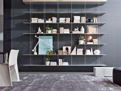Molteni&C Graduate bookcase design Jean Nouvel