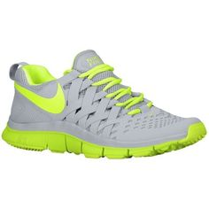 (28sre)-Zapato Nike Fitness Free Trainer 5.0 Hombre Lobo Gris / Verde Limao,80% off for sneakers, impossible is nothing.