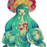 Disney Characters, Fictional Characters, Stuffed Mushrooms, Disney Princess, Tees, People, Painting, Art, Stuff Mushrooms