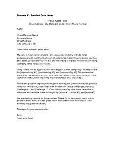 Job Application Cover Letter, Professional Cover Letter Template, Job Application Form, Cover Letter Example, Free Cover Letter, Cover Letters, Employment Cover Letter, Career Objectives For Resume, Job Letter