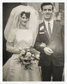 Today I'm off home to bring my daughter to see this great woman called Mama here she is on her wedding day.  Still my favourite #vintagebride.  My dad was some looker to hey.  #weddingmoments #weddinginspiration #weddingphotography #vintagewedding