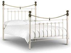 images of white metal bed frame inspiring