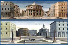 Francesco di Giorgio Martini - La città ideale2