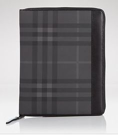 Burberry iPad Case -- we just love that plaid pattern!