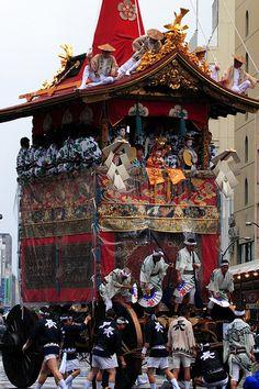 Gion Festival  Kyoto-shi, Kyoto Prefecture, Japan