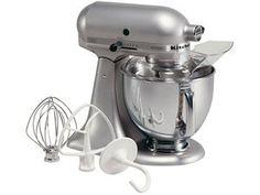 KitchenAid 5-qt. Artisan Stand Mixer, Silver Metallic  I got one for Christmas.  I love it.  Isn't she a Beauty!