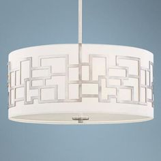 With its clean, sculptural form and modern styling, this chandelier offers an elegant lighting accent for your home.