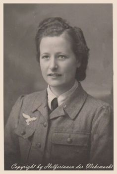 Luftwaffe helferin