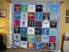 This is the back side of Mrs. Bakers Quilt