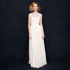 J.Crew Beatriz Gown | Vintage Inspired Wedding Dres