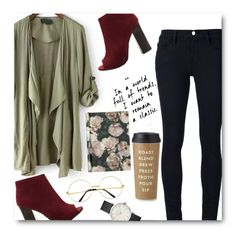 this set is a mess by do-dorina on Polyvore featuring Frame, H&M and Kate Spade