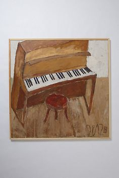 Piano by Jean Claude Hautin #anthropologie