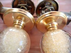 Ruth Richmond for Weiser acrylic doorknobs - what we\'re lusting ...