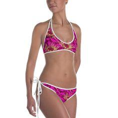 Ava devine pink bikini