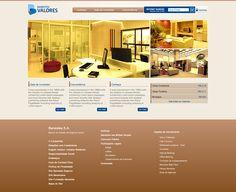Hotsite para a campanha de inauguração da agência Banestes Valores.