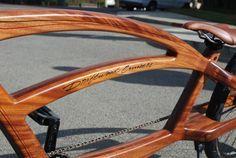 Custom Made Driftwood Cruiser #2 - Custom Bicycle