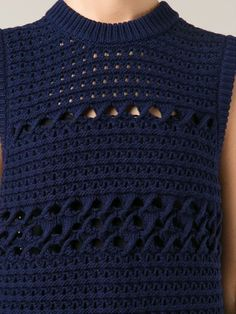 Proenza Schouler Chunky Knit Tank Top - The Webster - Farfetch.com