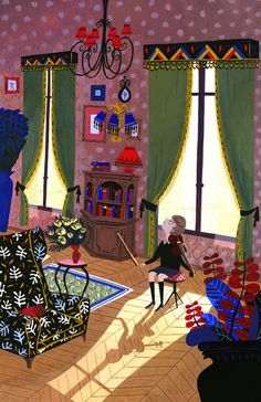 Alexandra Huard's illustration found on wonderful Gems.  I love this.