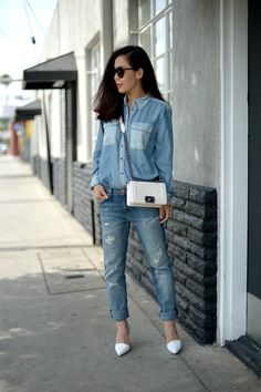 Modesty and Simplicity: Double Denims