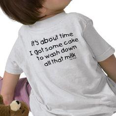 1st Birthday shirt (back)