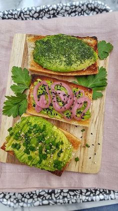 Sel Rose, Avocado Toast, Tapas, Breakfast, Anna, Food, Rye, Balsamic Vinegar, Cilantro