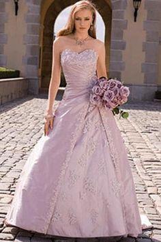 Fotos De Vestidos Color Para Novias Purple Wedding GownColored