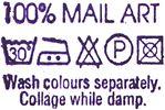 Keith Bates 100% Mail Art