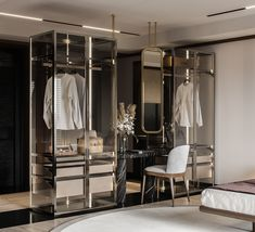 Indian Project on Behance Armoire, Dressing Room Design, Dressing Table, Wardrobe Design Bedroom, Luxury Closet, Closet Designs, Luxurious Bedrooms, Bathroom Interior, Modern Bedroom