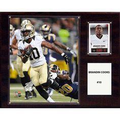 C Collectables NFL 12x15 Brandin Cooks New Orleans Saints Player Plaque