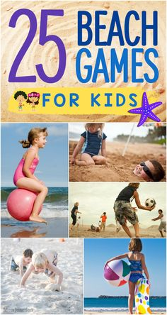 Looking for some fun Beach Games For Kids? MomJunction shares a list of 25 best beach games and activities that your kids will enjoy. Kids Beach Activities, Beach Games For Adults, Kids Beach Party, Beach Party Games, Kids Party Games, Parties Kids, Luau Party, Kids On The Beach, Fun Games