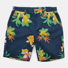Obey Working Man Ii Shorts - Hawaiian Navy