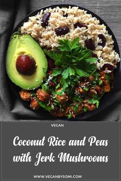 Jamaica-inspired Coconut Rice and peas with jerk Mushrooms. Once you hear the word 'jerk' I'm pretty sure your mind goes straight to Jamaica! So, it comes as no surprise that this recipe is Jamaica-inspired. Jerk is a style of cooking that involves marinating meat (typically chicken or pork) with a spice rub before cooking it. …Continue Reading