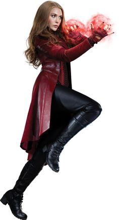 Scarlet Witch, Captain America, Civil War, Wanda, Cosplay Costumes, Halloween Cosplay, Halloween $205