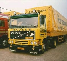 Volvo F10 Ferrymasters Volvo Trucks, The Good Old Days, Cars And Motorcycles, Transportation, Track, History, Vehicles, Rat Rod Trucks, Concept