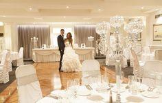 Modern Function Room Small Wedding