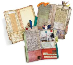 file folder? art journal pocket pages....(just an image)