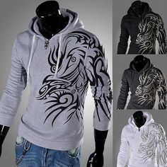 COOL men's Hoodies men Sweatshirts men's casual by shopshop369, $45.00