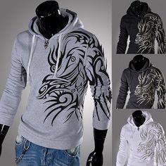 COOL men's Hoodies men Sweatshirts men's casual by shopshop369, $45.00