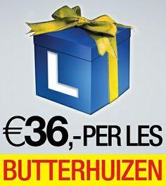 Flyer http://www.rijschoolbutterhuizen.nl/gratis-proefles-aanvragen