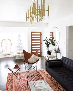 #interiorinspiration  looking for a chandelier like this any idea ?  Je recherche un plafonnier comme celui une idée ? #home #decoration (pic by @sarahshermansamuel) by adenorah