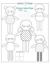 Mini Pals weiche Stoffpuppe Schnittmuster Spielzeug Softie gefüllt & Etsy & Mini Pals Soft Rag Doll Sewing Pattern Toy Softie & Etsy & The post Mini Pals Soft Rag Doll Sewing Pattern Toy Softie Softies, Doll Toys, Baby Dolls, Sewing Crafts, Sewing Projects, Sewing Ideas, Animal Sewing Patterns, Pattern Sewing, Softie Pattern
