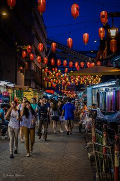 My love for Chinatowns and #markets allover the world took me to Jalan Petaling. Not so good for shopping, you can find cheaper clothes...