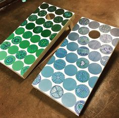 graderspainted cornhole auction project painted circles second school class using each more with qtip dot Fun school auction class project with the second graderspainted cornhole set Each kid painted onYou can find School auction and more on our website Classroom Auction Projects, Art Auction Projects, Class Art Projects, Collaborative Art Projects, Art Classroom, Auction Ideas, Welding Projects, School Projects, Montessori Art