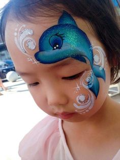 Discover recipes, home ideas, style inspiration and other ideas to try. Face Painting Tips, Girl Face Painting, Face Painting Tutorials, Face Painting Designs, Painting For Kids, Paint Designs, Body Painting, Dolphin Face Paint, Mermaid Face Paint