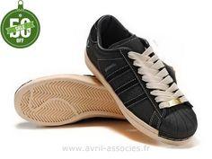 Boutique Adidas Superstar 35e Anniversaire Chaussures Hommes Noir (Adidas Superstar 80S)
