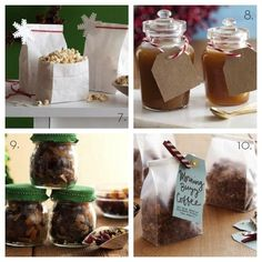 Unique gifts in a jar recipes