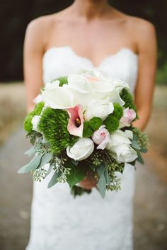 Pretty petals   Photography: Whitney Krutzfeldt - wckphotography.com  Read More: http://www.stylemepretty.com/canada-weddings/2015/04/07/rustic-elegant-wedding-on-galiano-island/